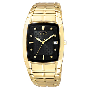 Pleasing Citizen Gents Eco Drive Square Face Watch Hairstyles For Women Draintrainus